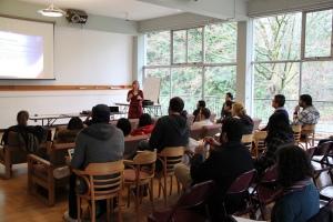 US Embassy Canada classroom