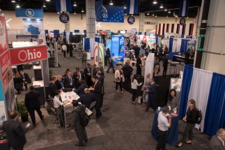 SelectUSA exhibit hall