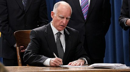 Governor brown signs laws